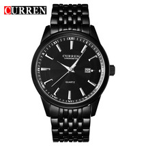CURREN Men Brand Watches Luxury Stainless Steel Business Casual Watches - $20.56