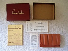 """Vintage """" NOS """" NIB """" Princess Gardner Genuine Lambskin Key Gard """" GREAT... - $19.99"""