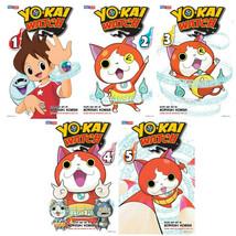 YO-KAI WATCH English MANGA Series by Noriyuki Konishi Set of Book Volume... - $46.99