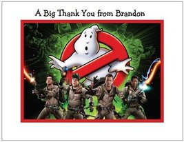 Ghostbusters Personalized Note/Thank You Cards Style #5 - $10.99