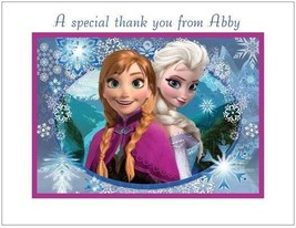 Frozen #7 ~ Personalized Note/Thank You Cards - $10.99