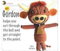 Kamibashi Gordon The Bull The Original String Doll Gang Keychain Clip - $10.99