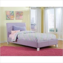 Twin Size Fantasia Upholstered Platform Bed In ... - $289.35
