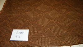 Brown Abstract Print Damask Upholstery Fabric 1 Yard  R205 - $27.41