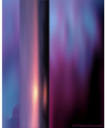 Violet Flame Saint Germain Fine Art Photograph ... - $150.00
