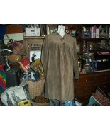 J JILL Cool Leather Suede Trench Coat Size XS - $24.75