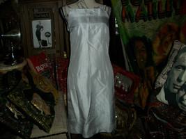 LYNN LUGO Dainty Heather Gray Silk Dress Size 0 - $19.80