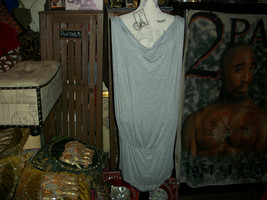 AXARA  PARIS Chic Heather Gray Dress Size L - $14.85