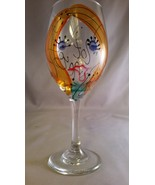 Pinot Princess Glass by Leslie's Handpainted Glass - $21.00