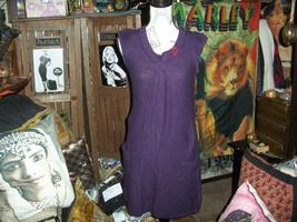 DEREK HEART Poppin Purple Knit Dress Size M - $9.90