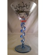 Handpainted Martinis with a twist by Leslie's H... - $30.00