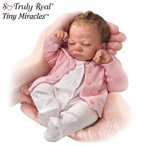 #300785001 *The First-Ever So Truly Real® 10-Inch Baby Doll Tiny Miracles Emmy D