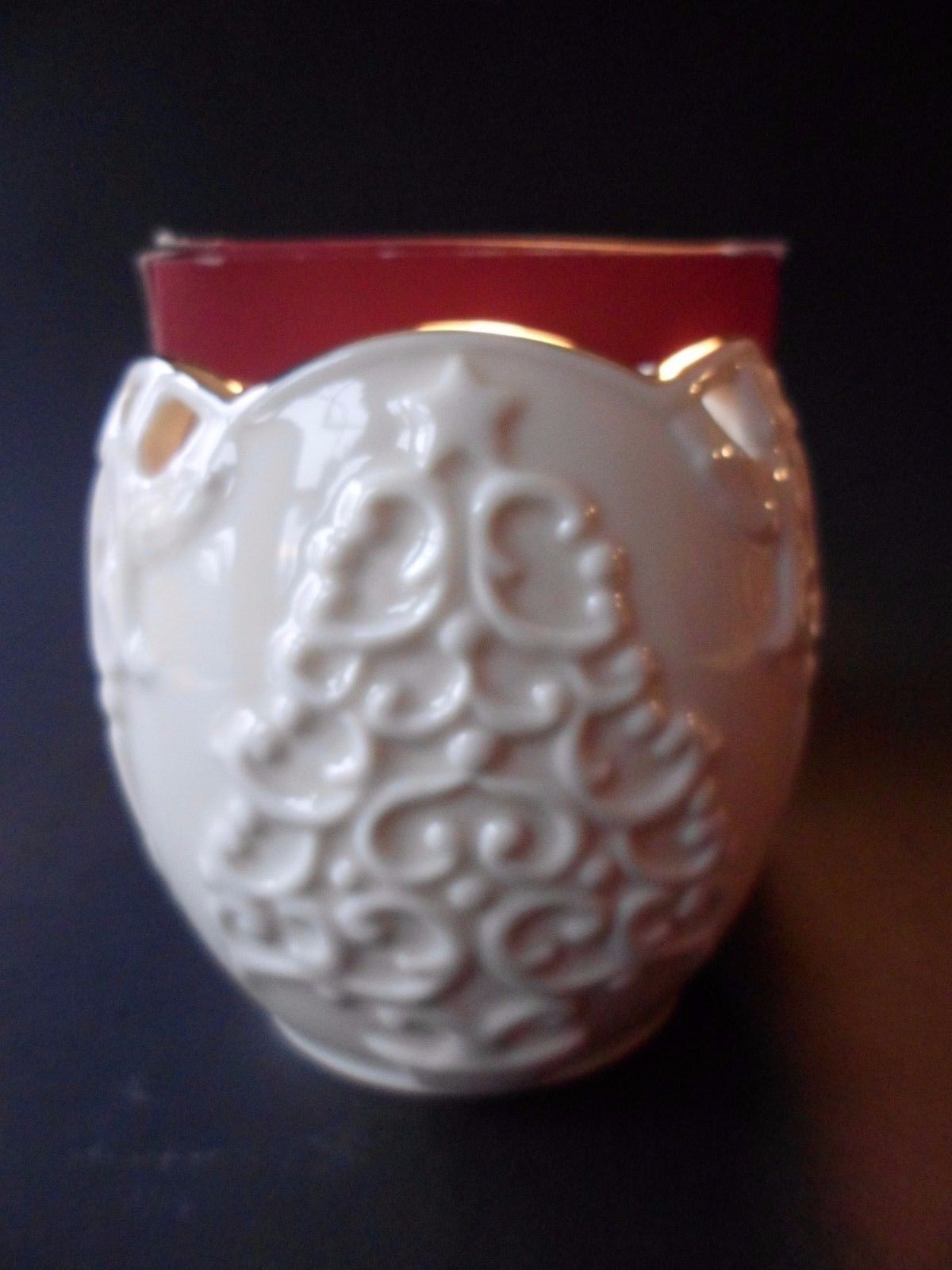 LENOX  Merry Lights Tree Votive Candle Holder (NEW)