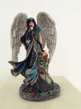 Raoul Vitale's Blood Rose Angel Figurine Twilight Garden Collection - $19.64