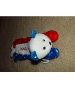 New York Bear NY Pencils Holder Teddy 1999 J Fan With Zipper Red, White ... - $10.00