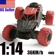 1:14 2.4Ghz 4WD 36Km/h RC Alloy Truck Remote Control Car Off Road RTR  Toy Car - $87.52