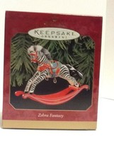 Hallmark Keepsake - Zebra Fantasy - 1999 - QX6559 - Mint - $4.95