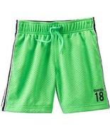 OshKosh B'gosh Little Boys' Mesh Shorts boys Green shorts Size -4 , 5 , ... - $11.99
