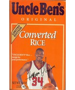 1997 hakeem olajuwon uncle bens rice full box houston rockets basketball - $19.99