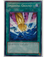 1st First Edition Smashing Ground YuGiOh Card SDLS-EN026 Common Light Play - $3.42