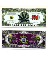 Marijuana Novelty Money Bills NEW - $2.00