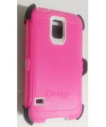 Otterbox Defender Case for Samsung Galaxy S5 - Pink / White + Holster Be... - $29.99