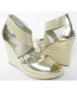 INC International Concepts Devona Women's Gold Wedge Sandal Platform Sho... - $31.99