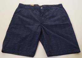 DKNY Jeans M1420002 Men's Blue Navy Flat Front Casual Shorts 30 - $28.79