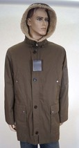 Cole Haan 531APO28 Men's Olive Lined Filled Insulated Parka Jacket Coat ... - $127.99