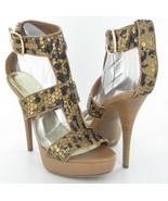INC International Concepts Morgan Womens Brown Leopard High Heels Shoes-8.5 - $20.79