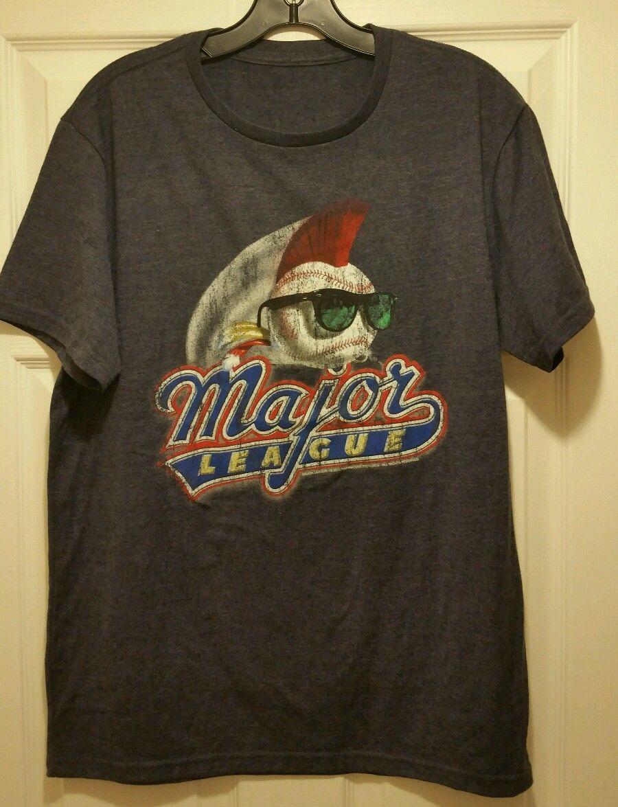 New major league distressed movie logo adult medium t for Adult medium t shirt