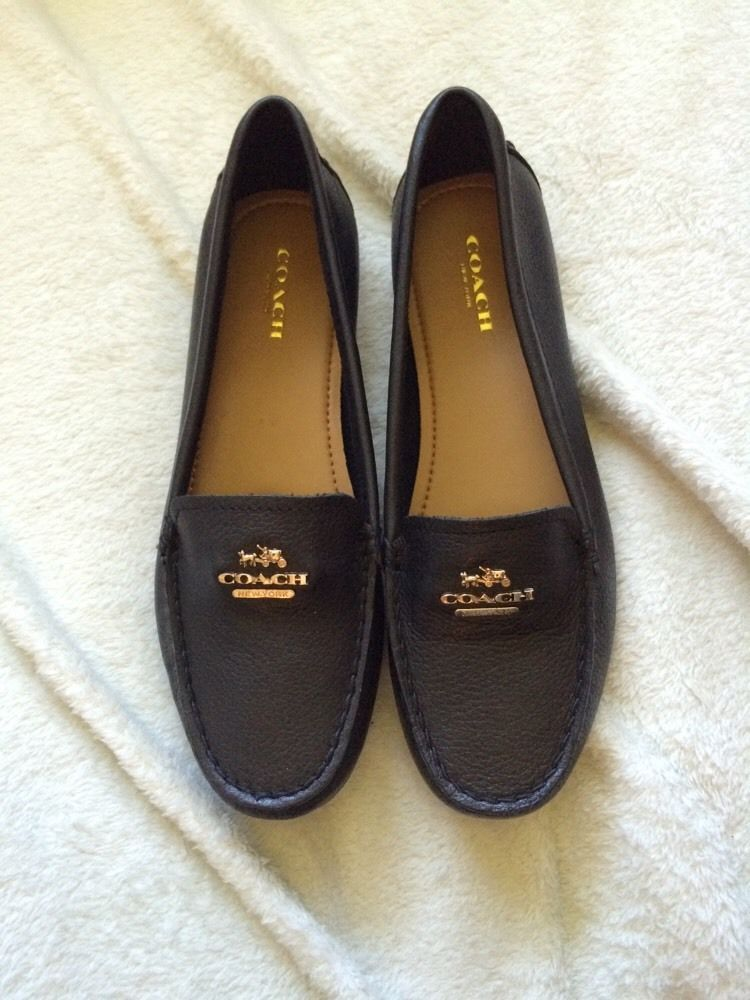 44b1f93f640 New Coach Shoe Loafer Flat Soft Genuine and similar items. 57 99