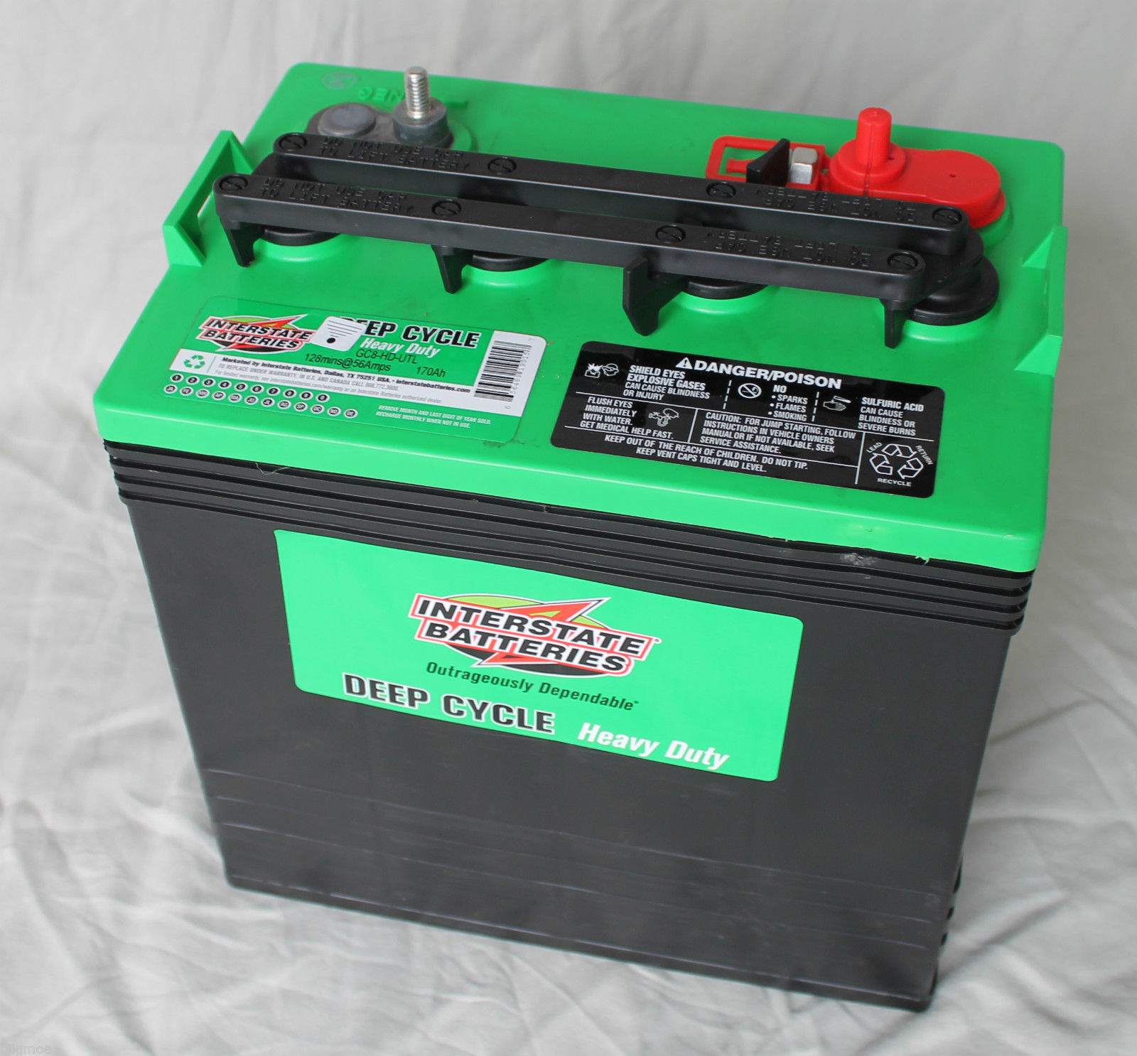 Interstate batteries solar rechargeable batteries autos post for Interstate deep cycle trolling motor battery