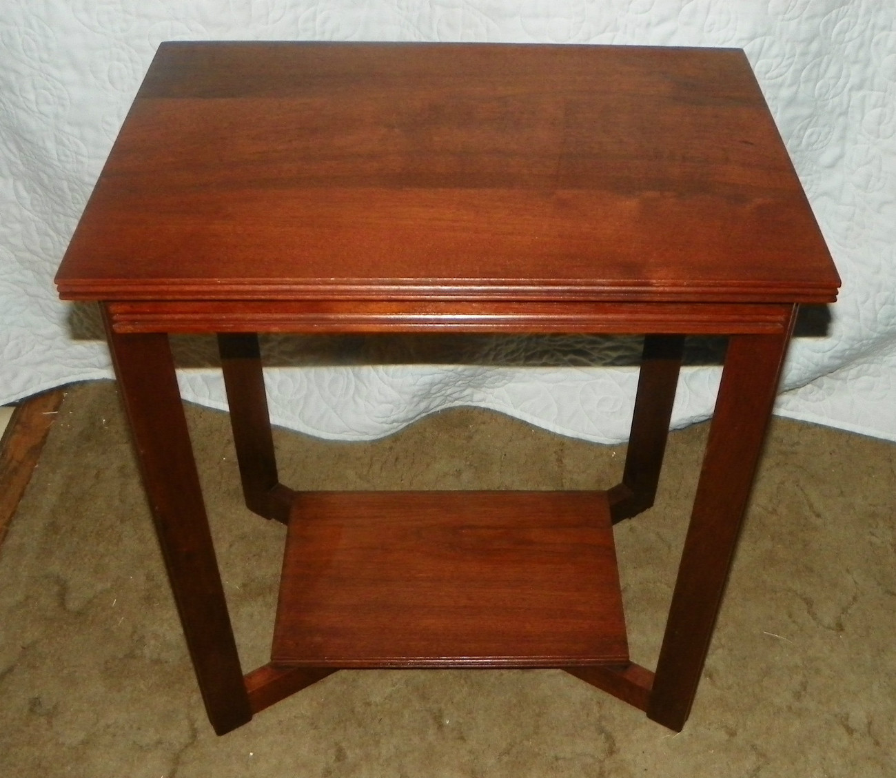 Primary image for Solid Walnut End Table / Entry Table  (T199)