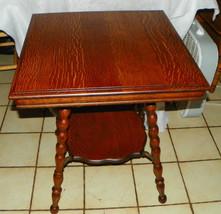 Solid Quartersawn Oak Parlor Table / Center Table  (T456) - $499.00