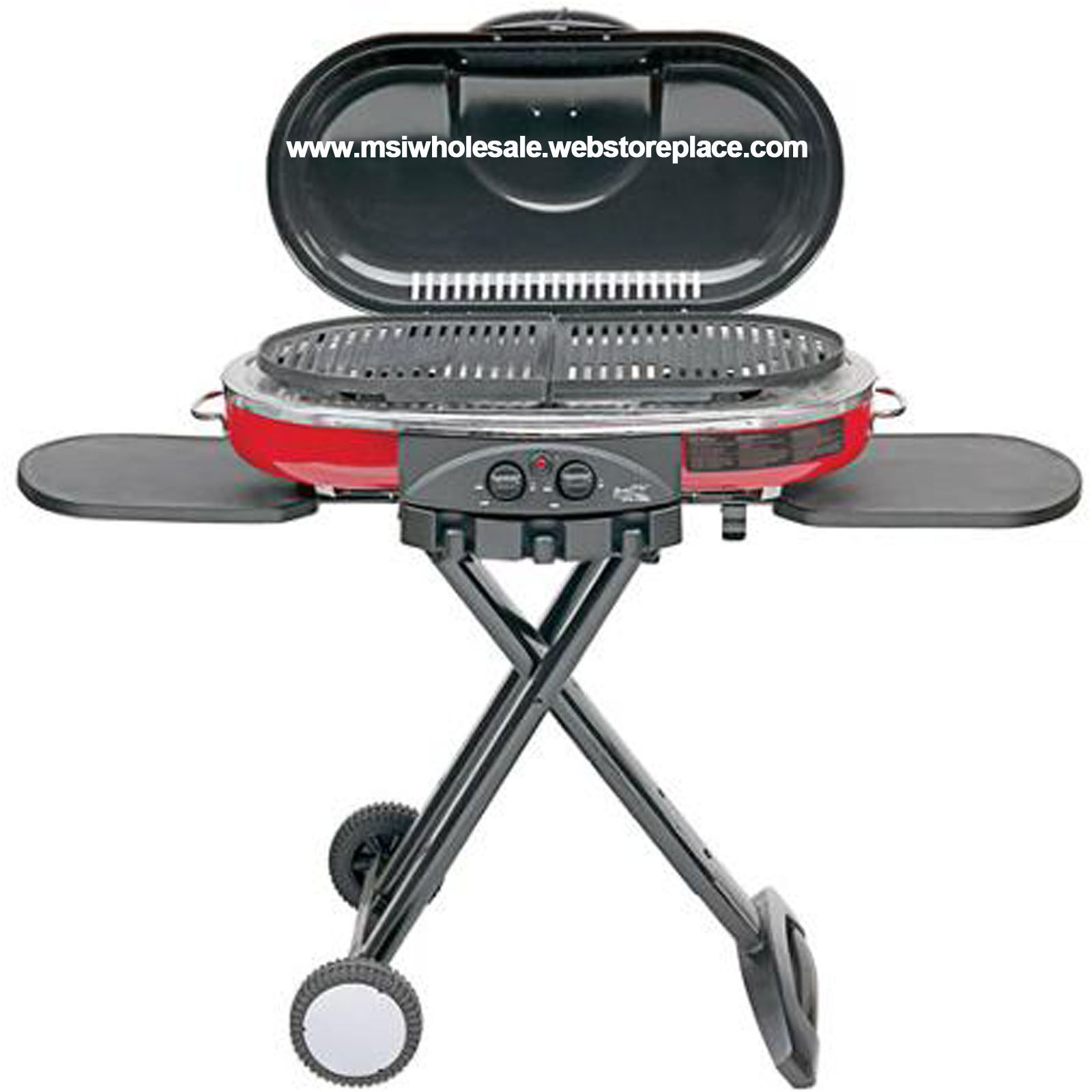 NEW Coleman Lxe Cooking Grill Roadtrip Propane Portable Camping Outdoor Tailgate