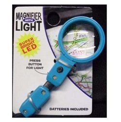 Magnifier with Light - Blue by Novelty Trading