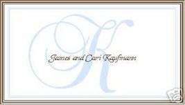 Classy Monogram Calling/ Gift / Enclosure Cards - $10.39
