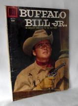 Buffalo Bill Jr 673 Western Comics Old West 1955 Color Dell Vintage TV Show - $19.78