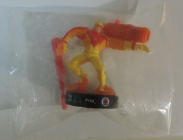 Marvel Heroes Attacktix Battle Figure Game Series 1 Pyro figure #5 Compl... - $6.75