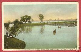 DETROIT MI Southern Canal Belle Isle fr Casino BJs - $6.00