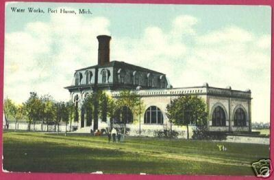 Primary image for PORT HURON MICHIGAN Water Works 1910 MI