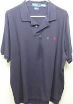 NWT Classic Ralph Lauren Men's Shirt Dark Blue 100% Cotton XL - $32.63