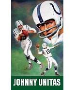 Johnny Unitas Magnet #1 - $7.99