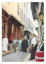 Tunisia Tunis Les Souks Suk Street Market Scene Vintage H Ismail Postcar... - $6.99