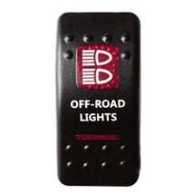 E Support Car Red LED Off Road Light Toggle Switch - $6.57