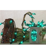 CHILI PEPPER PARTY STRING LIGHTS - GREEN 35 - R/G -- CINCO MEXICAN PARTY - $30.00