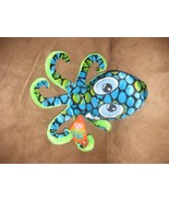 """OCTOPUS GREEN and BLUE Brand New Plush NWT Stuffed Animal w Tags 11"""" SUG... - $7.99"""