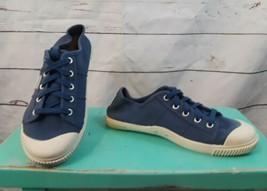Women's Keen Coronado 100% Vulcanized Blue Canvas Sz 8.5 Lace Up Sneaker - $22.19
