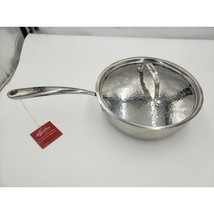 Lagostina 3.5 QT. Non Stick Saute Pan w/Hammered Stainless Lid - $113.10